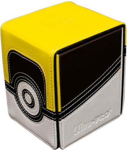 Ultra Pro Pokemon Ultra Ball Alcove Flip Magnetic Deck Box SEALED /& IN HAND!!