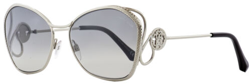 Roberto Cavalli Butterfly Sunglasses RC1062 Gavorrano 16C Palladium//Black 58mm 1