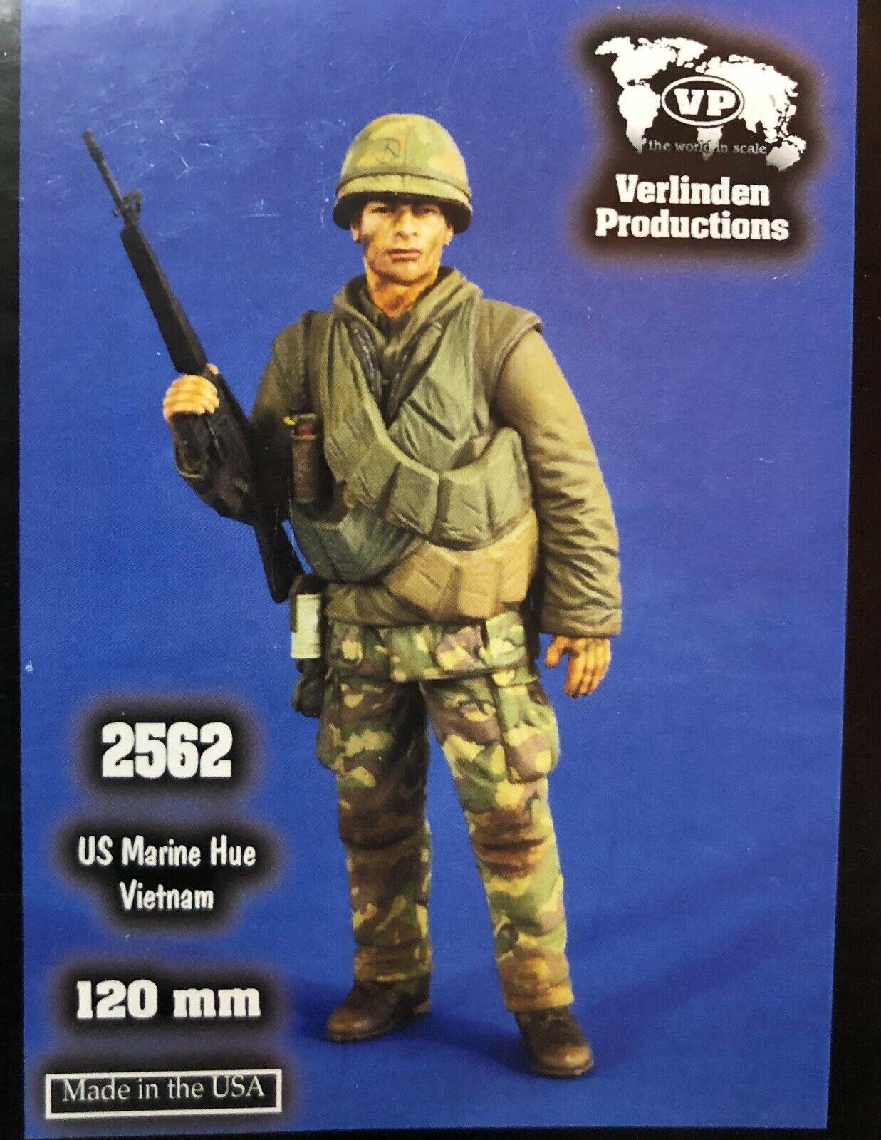 1 16 120mm resin figure verlinden 2562 us marine Hue vietnam. new.