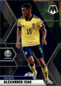 2021 Panini Mosaic UEFA Euro 2020 #174 Alexander Isak  Sweden Soccer Card