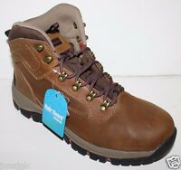 Eddie Bauer Men's 9 10 Bradley 2 Brown Waterproof Leather Hiking Snow Boots