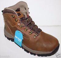 Eddie Bauer Men's 9 10 Bradley 2 Brown Waterproof Leather Hiking Snow Boots