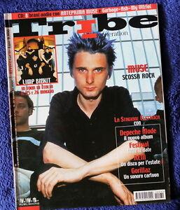TRIBE-Magazine-Italia-2001-MUSE-cover-REM-Depeche-Mode-LIMP-BIZKIT
