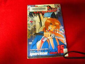 Ruroni Kenshin vol #15  Manga comic books anime manhwa manhua english language
