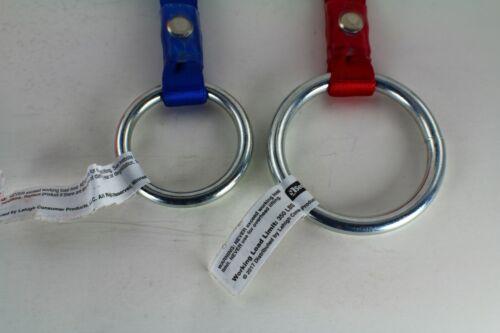 "ARBORIST Felling Chain Saw Strap Lanyard 5//8/"" CHOOSE LENGTH,COLOR /& RINGS"