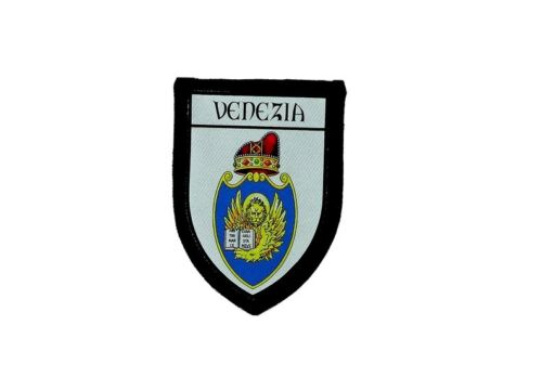 Patch embroidered thermoadhesive printed coat of arms flag venice italy