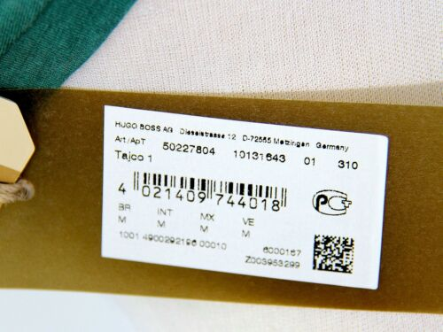 BRAND NEW SZE M HUGO BOSS ORANGE LABEL T SHIRT 100/% COTTON Model Tajco 1