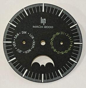 NEUF-SUPERBE-CADRAN-DE-MONTRE-LIP-TALLON-MACH-2000-PROTOTYPE-LIP-DIAL-NOS