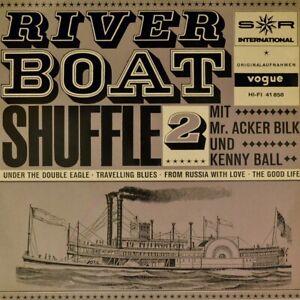 7-034-ACKER-BILK-Riverboat-Shuffle-KENNY-BALL-2-Folge-VOGUE-Jazz-EP-Dixieland-1964