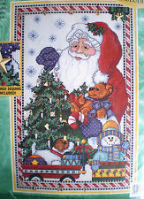 "Bucilla ""Gifts From Santa"" Advent Calendar Cross Stitch Kit  25 Charms"