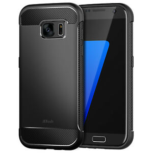 JETech-Case-for-Samsung-Galaxy-S7-Shock-Absorption-Carbon-Fiber-Cover