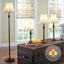 Lamp Set 4 Piece Decoration Table Floor Accent Lamps Decor ...