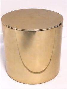 Beau Image Is Loading Mid Century Modern Vintage Brass Drum End Table
