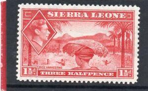 Sierra-Leone-GV1-1938-44-1-1-2d-scarlet-sg-190-HH-Mint
