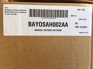NEW-Trane-Manual-Outside-Air-Hood-BAYOSAH002AA