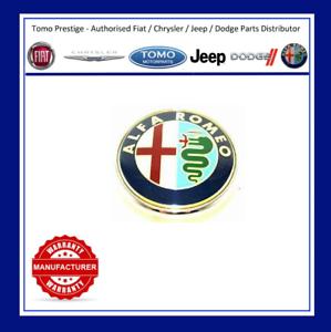 New Genuine Alfa Romeo 159 Front Bonnet Grille Emblem Logo Badge Only 46558973