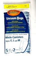 10 Miele Canister Vacuum Bags Style F J M & Scent Tablets P205 Vacuum Cleaner Accessories
