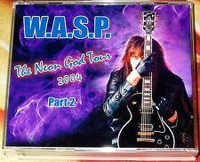 W.A.S.P. WASP-The Neon God World Tour Part:2 Live 2 CD + 2 DVD 2004 Kiss Saxon