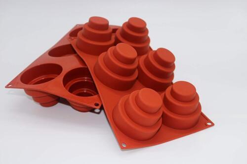 Trois niveaux Silicone Baking Moule par Misterchef ®