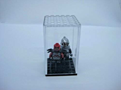 NEW Display Case for Lego Minifigures Clear Dust Free! 6x6 stud size