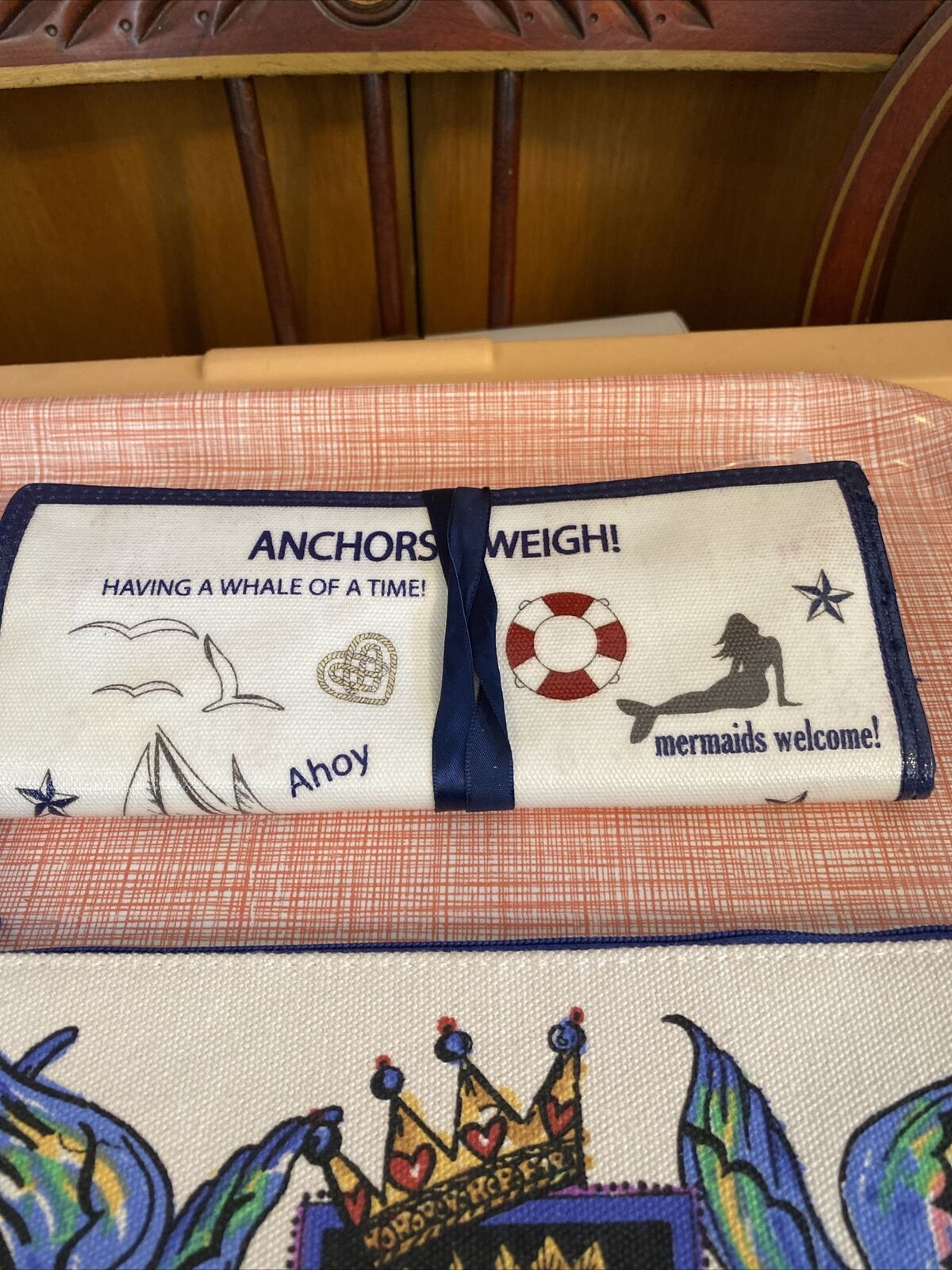 New 3 Pc Brighton Lot Bookmark Jewelry Pouch,Cosmetic Bag 2019