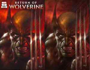 RETURN-OF-WOLVERINE-1-LUCIO-PARRILLO-COMICXPOSURE-VIRGIN-VARIANT-2-PACK-SET-NM