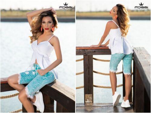 FOGGI Damen  Bluse Tunika Shirt Top 34,36 Weiß-Creme