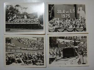 4 Photos 10-Year Anniversaire De Total Victory Over Sud Vietnam 30-4-1975