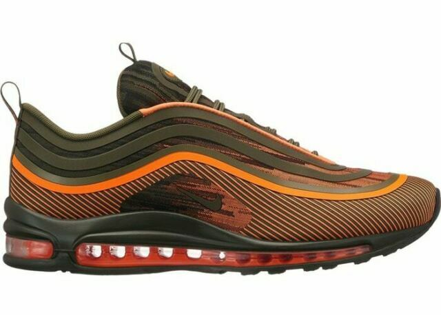 Size 7.5 - Nike Air Max 97 Ultra '17 Orange Sequoia 2018 for sale ...