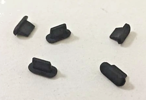 5x Ladeanschluß Staub Schutz Stöpsel Stecker Silikon für iPhone 7 8 X 11 SE 12