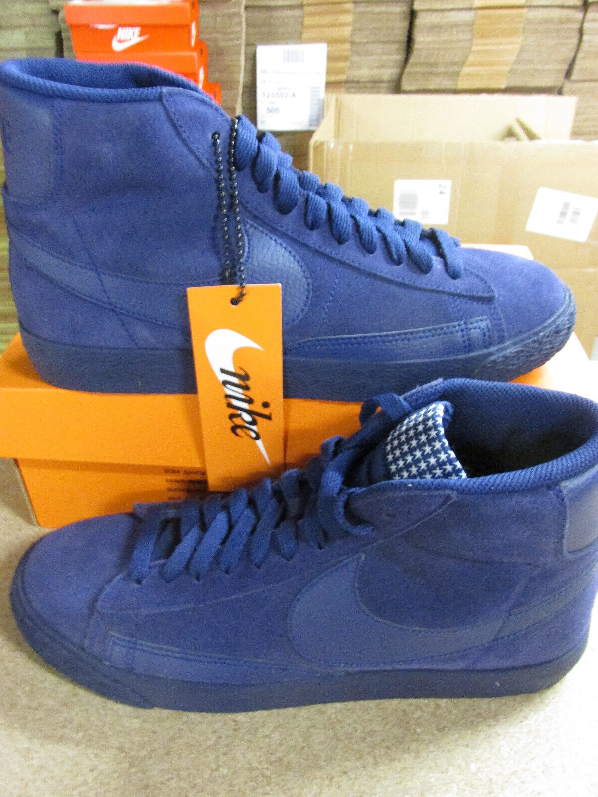 Nike Blazer Mid PRM VNTG Mens Hi Top Trainers 638261 404 Sneakers Shoes