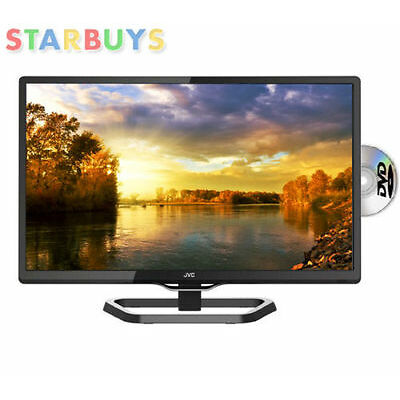 "JVC 24"" LED LCD HD TV DVD Combi, Freeview USB Record, Pause & Play - LT-24C340"
