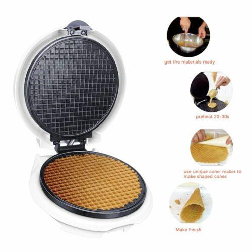 Electric Egg Roll Maker Crispy Omelet Mold Crepe Baking Pan Pancake Machine