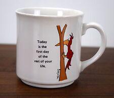 Sandra Boynton Coffee Mug First Day of Rest of Life Woodpecker Bird Cup Japan