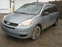 **OUT FOR PICKING!!** WS6464 2004 TOYOTA SIENNA Woodstock Ontario Preview