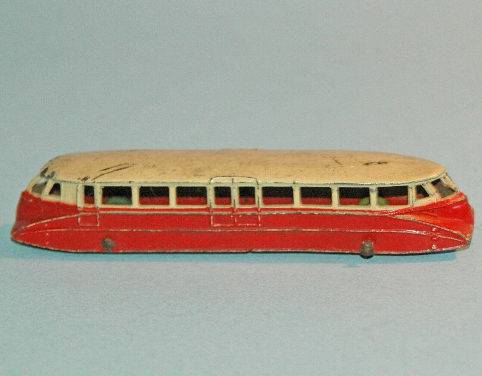 DINKY giocattoli MECCANO ENGLe  26 Great Western Railstrada aerodinamico FERROVIA AUTO 1937