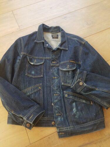 Denim Workwear Jacket M Civilianaire Selvedge