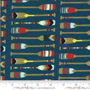 Sailcloth Lakeside Story Fabric