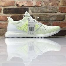 3999cfd52f3e4 Adidas Ultraboost Clima Mens Size 10 AQ0481 Cloud White Solar Yellow Running