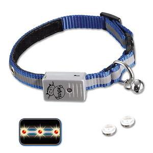 LED-Katzenhalsband-Blinkhalsband-sichtbar-bis-300-m-Nylon-reflektierend-N78081