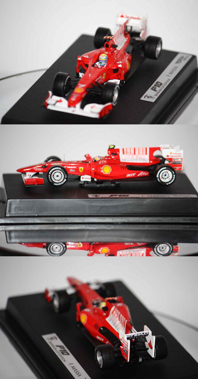 Hotwheels F1 Ferrari F10 F. Massa 2010 1 43 T6290