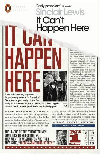 It Can'T Happen Aquí Por Lewis, Sinclair, Nuevo Libro, Gratis & , ( Rústica
