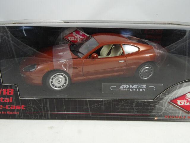 1:18 Guiloy #67509 Aston Martin DB7 Marron - Rare $
