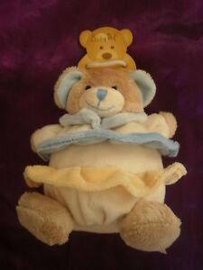 doudou-ours-boule-volant-bleu-jaune-BABY-NAT-BABYNAT