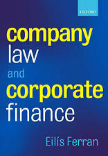 Company Law and Corporate Finance by Ferran, Eilis