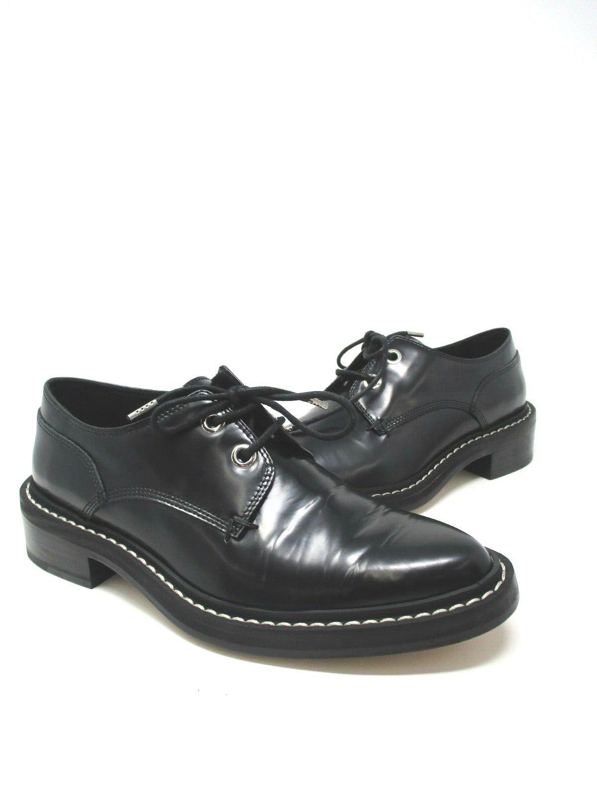 Straccio & Ossa di Kenton Nere con Lacci Oxford shoes Taglie Eu 38.5