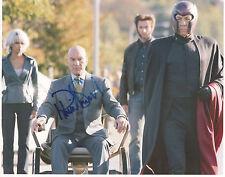 PATRICK STEWART Signed 10X8 Photo CHARLES XAVIER In X-MEN COA