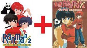 ANIME-DVD-ENGLISH-DUBBED-Ranma-1-2-1-161End-12-OVA-All-region-FREE-SHIPPING-GIFT