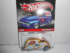 Hot Wheels 2010 Slick Rides Delivery Dougs Headers Deco Delivery w/RRs (Gold)