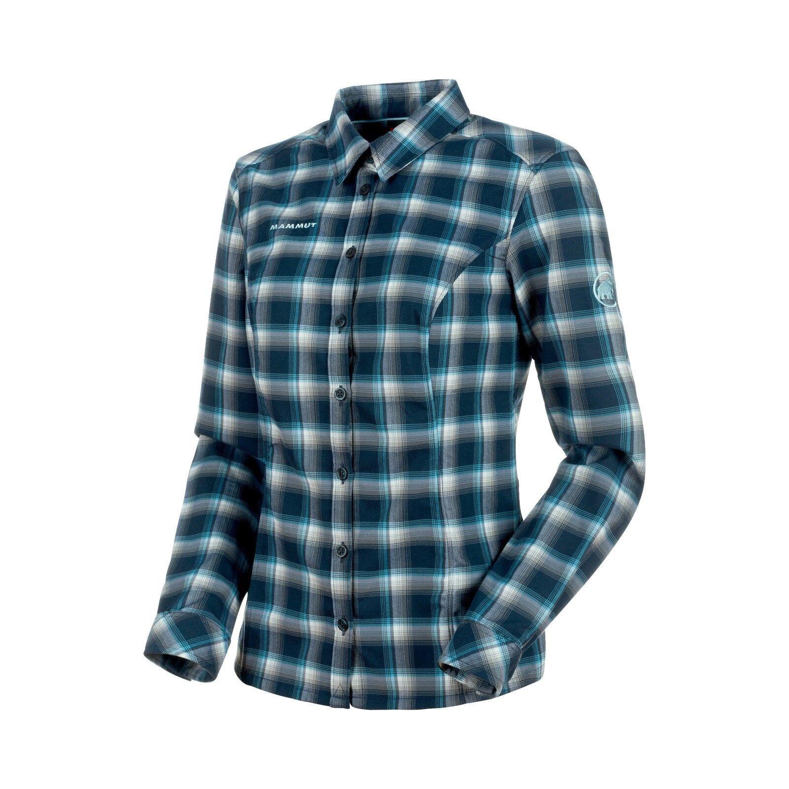 Mammut Alessandria Tour LS Shirt Damens  warmes warmes warmes Langarmhemd für Damen  marine b8e33b